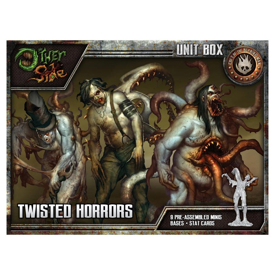 The Other Side: Twisted Horrors (Unit Box - The Cult)