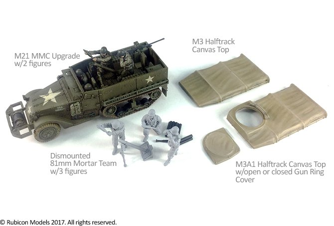 Rubicon - M3/M3A1 Expansion Kit - M21 MMC & Tarpaulin Set