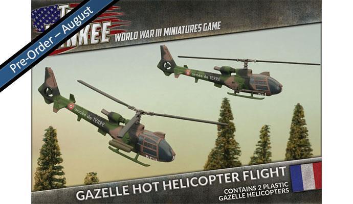 Team Yankee - French, Gazelle HOT Helicopter Flight