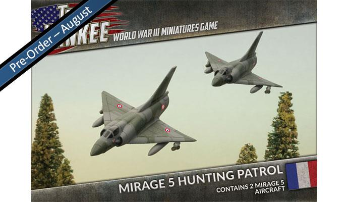 Team Yankee - French, Mirage 5 Hunting Patrol