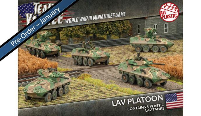 Team Yankee - LAV-25 (4) (Plastic)