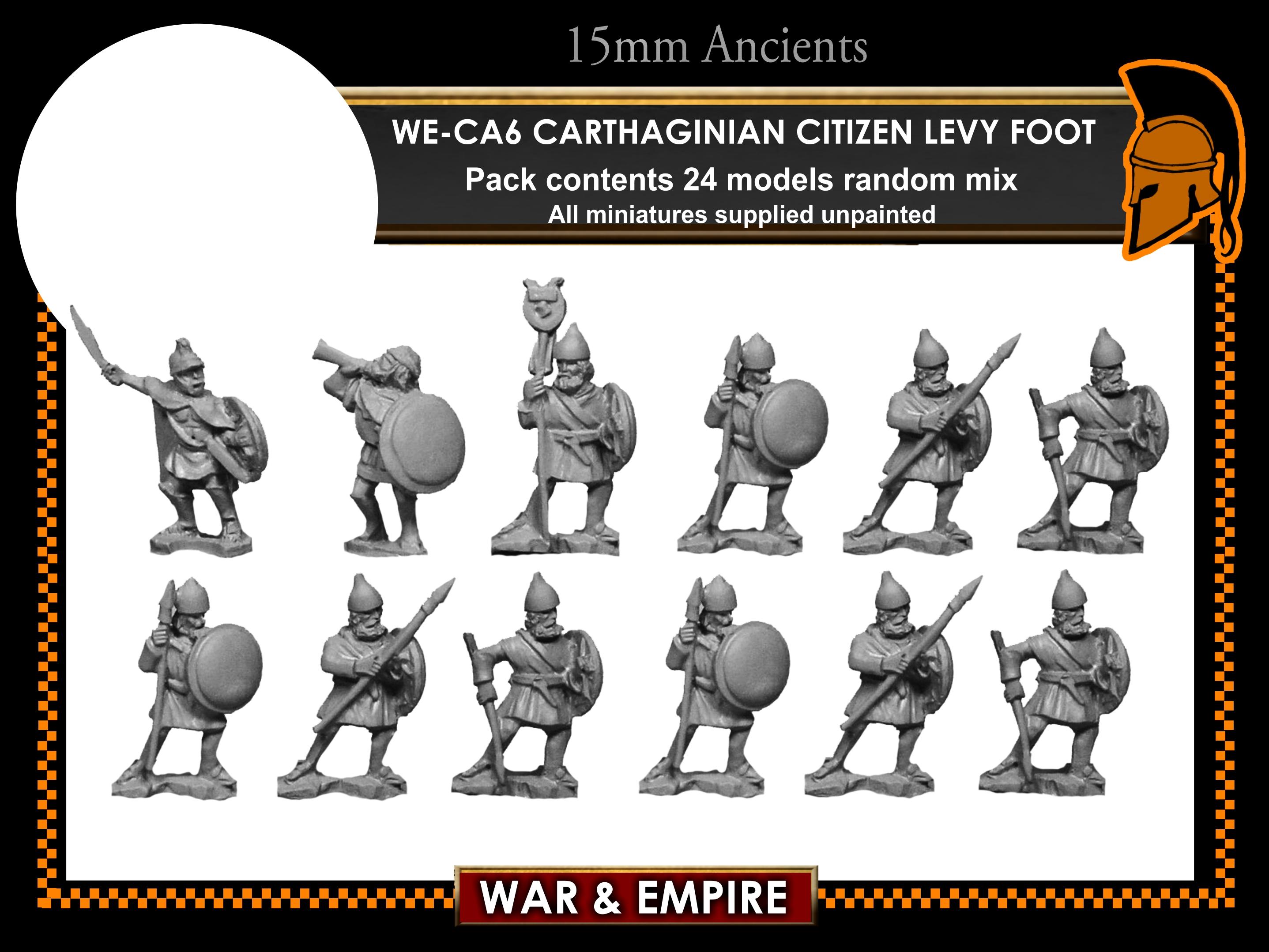 War & Empire - Carthaginian Citizen Levy Foot