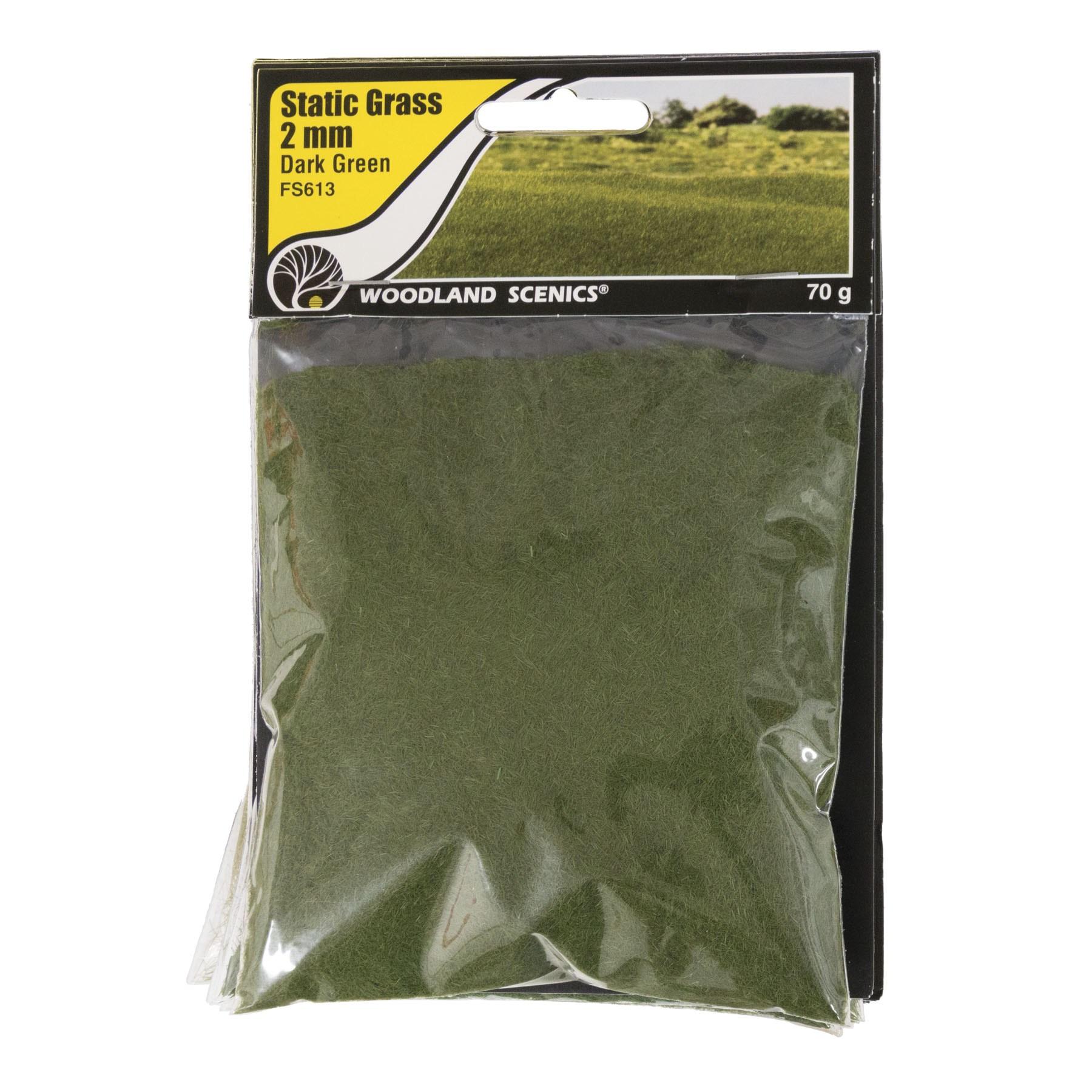 Bag TMC T64 Woodland Scenics Medium Green Coarse Turf