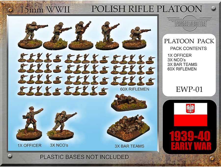 15mm Forged in Battle WWII US HMG PLATOON