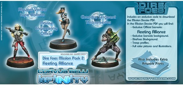 Infinity - Dire Foes Mission Pack 2: Fleeting Alliance