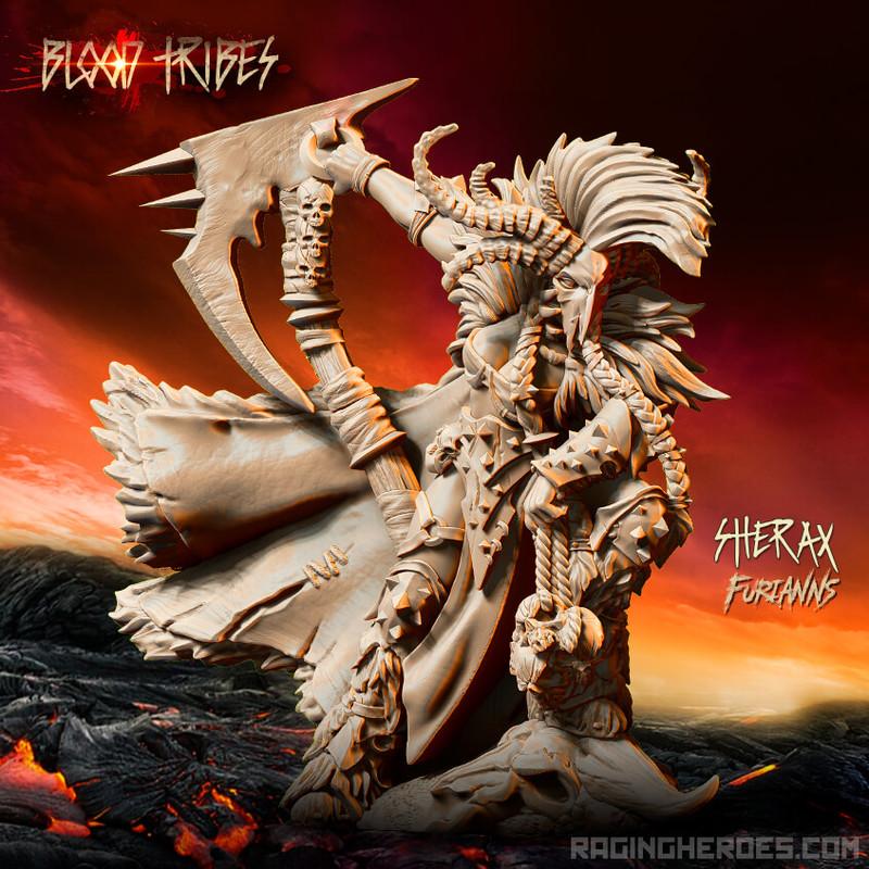 Raging Heroes - Furianns, Sherax