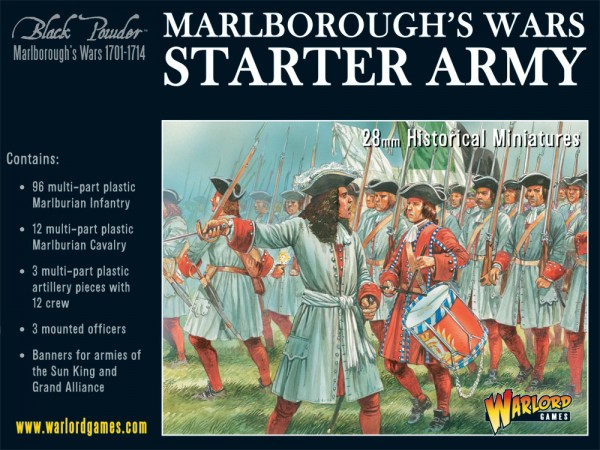 Black Powder - Marlborough's Wars Starter Army