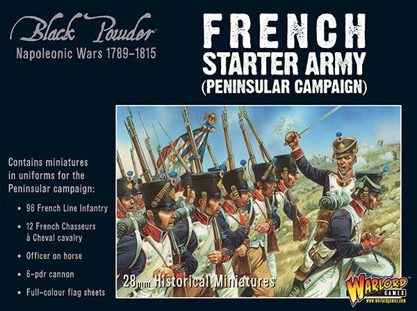 Black Powder - Napoleonic French Starter Army (Peninsular)